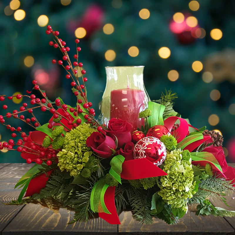 Holiday Firelight Centerpiece