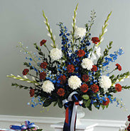 Patriotic Tribute Basket