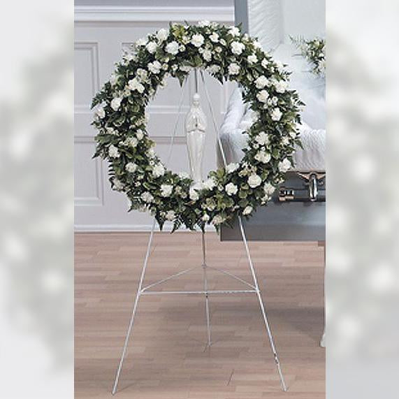 Flower Delivery Florist Funeral Sympathy Naples Eternal Adoration Wreath