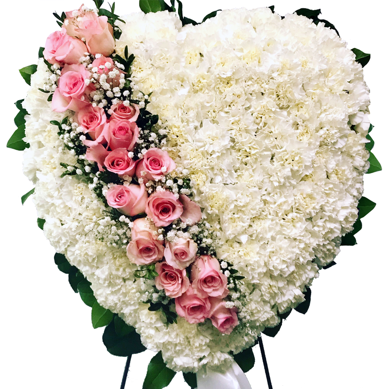 Flower Delivery Florist Funeral Sympathy Naples Gentle Loving Heart