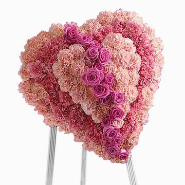 Flower Delivery Florist Funeral Sympathy Naples Gentle Loving Tribute Heart
