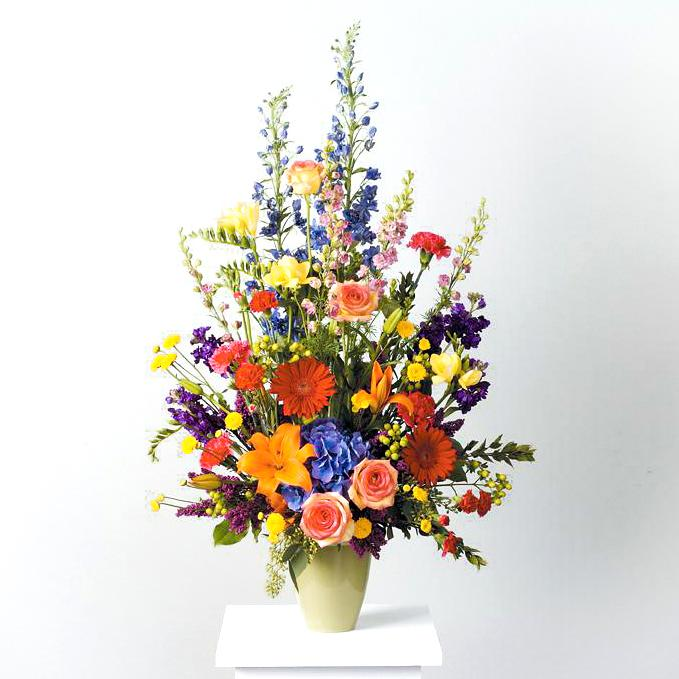 Flower Delivery Florist Funeral Sympathy Naples Glorious Celebration Of Life