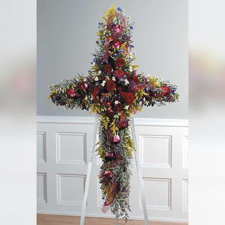 Flower Delivery Florist Funeral Sympathy Naples Heavenly Garden Cross