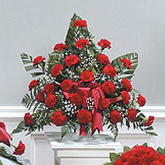 Flower Delivery Florist Funeral Sympathy Naples Infinite Devotion Basket