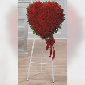 Flower Delivery Florist Funeral Sympathy Naples Infinite Devotion Heart