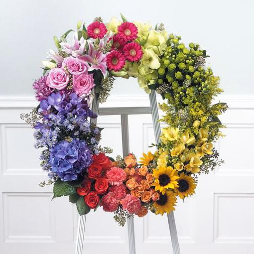 Flower Delivery Florist Funeral Sympathy Naples Laurel Of Amazing Grace