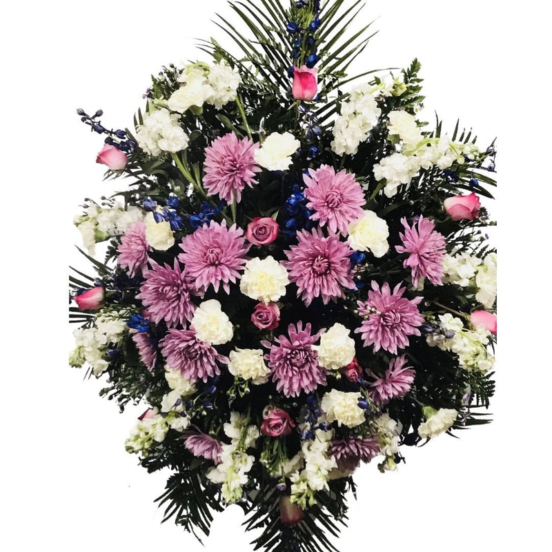 Flower Delivery Florist Funeral Sympathy Naples Monet S Standing Spray
