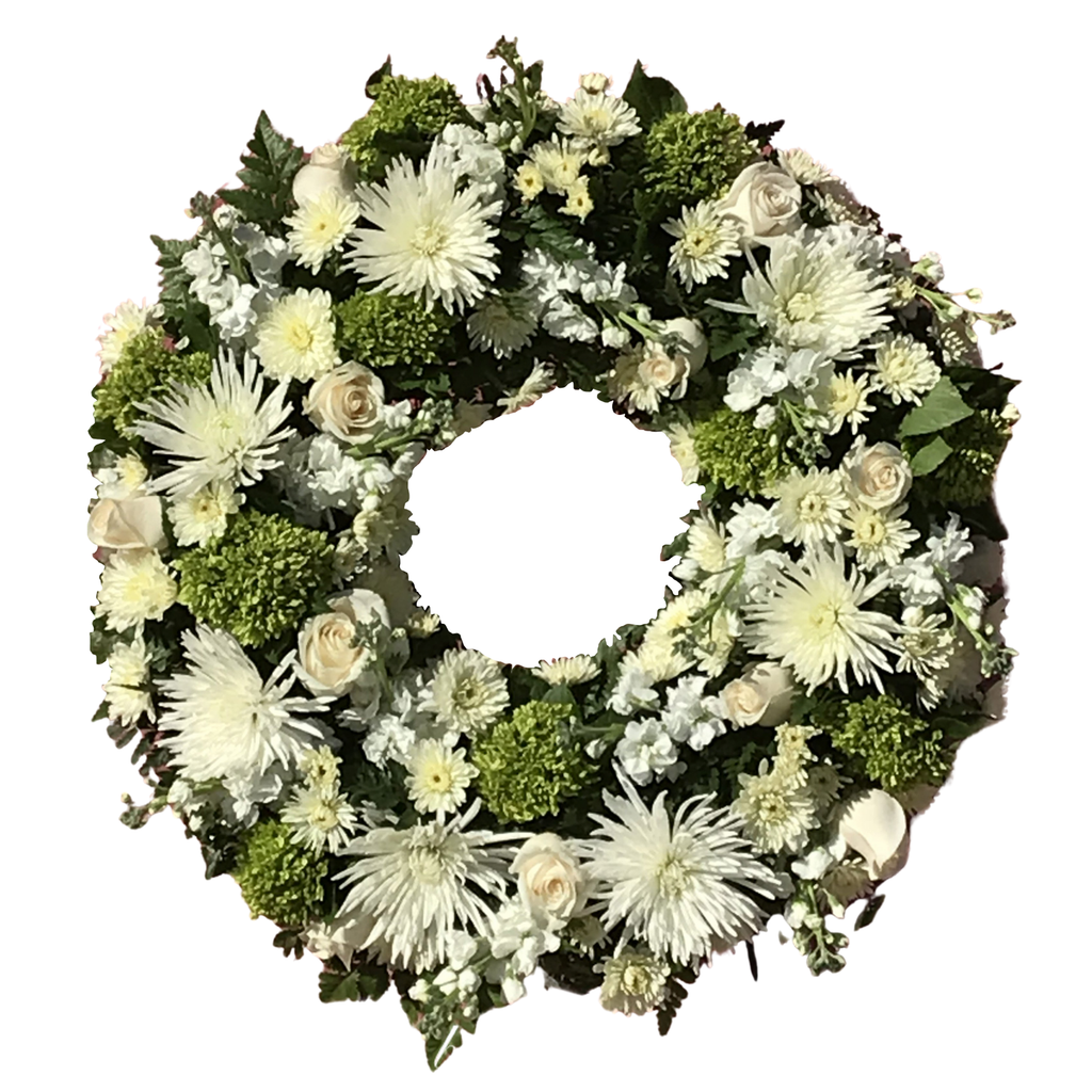 Flower Delivery Florist Funeral Sympathy Naples Nature S Glory Wreath