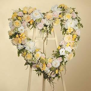 Flower Delivery Florist Funeral Sympathy Naples Natures Glory Heart