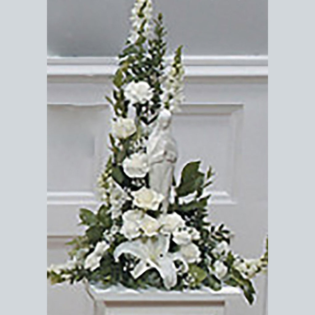 Flower Delivery Florist Funeral Sympathy Naples Our Lady S Peaceful Spirit