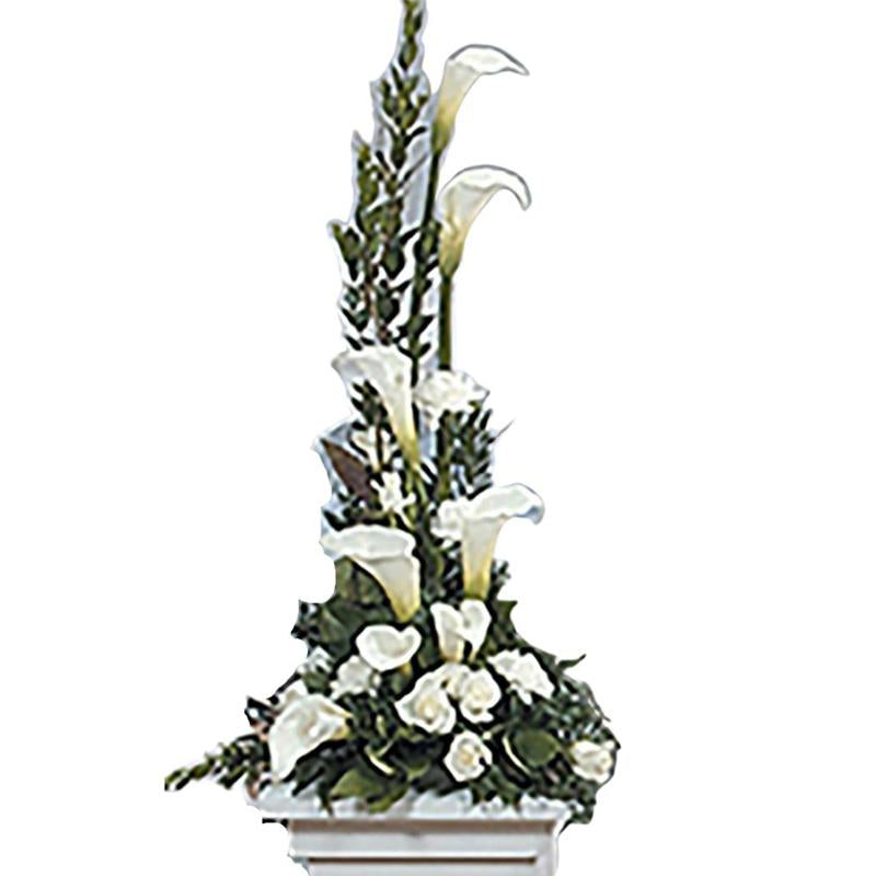 Flower Delivery Florist Funeral Sympathy Naples Peace And Love Basket