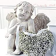 Flower Delivery Florist Funeral Sympathy Naples Peaceful Spirit Baby S Breath Heart