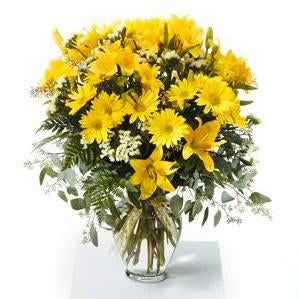 Flower Delivery Florist Funeral Sympathy Naples Ray Of Light Vase