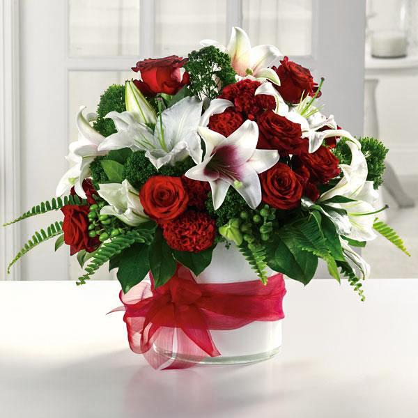 Flower Delivery Florist Funeral Sympathy Naples Ruby Red Splendor