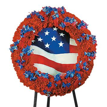 Flower Delivery Florist Funeral Sympathy Naples The Sacred Honor Wreath