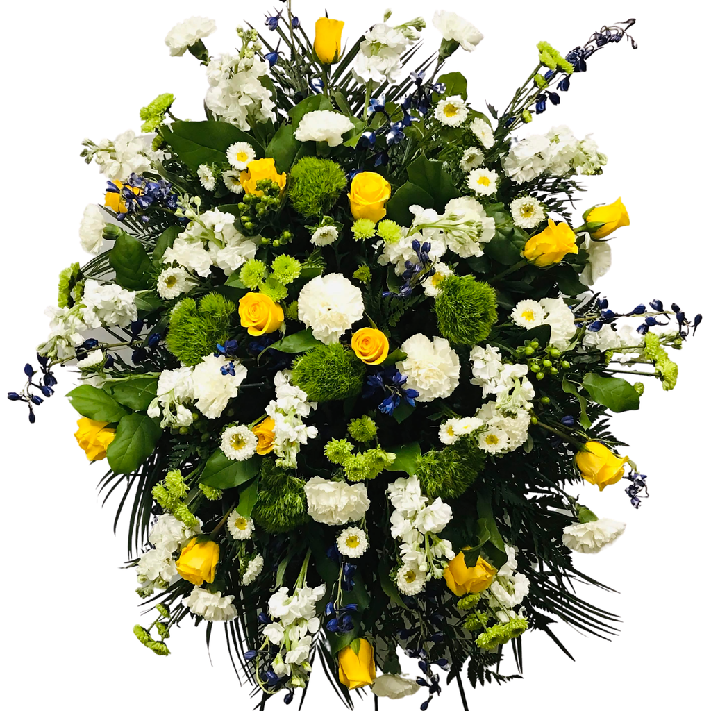 Flower Delivery Florist Funeral Sympathy Naples Wildflower Provence Standing Spray