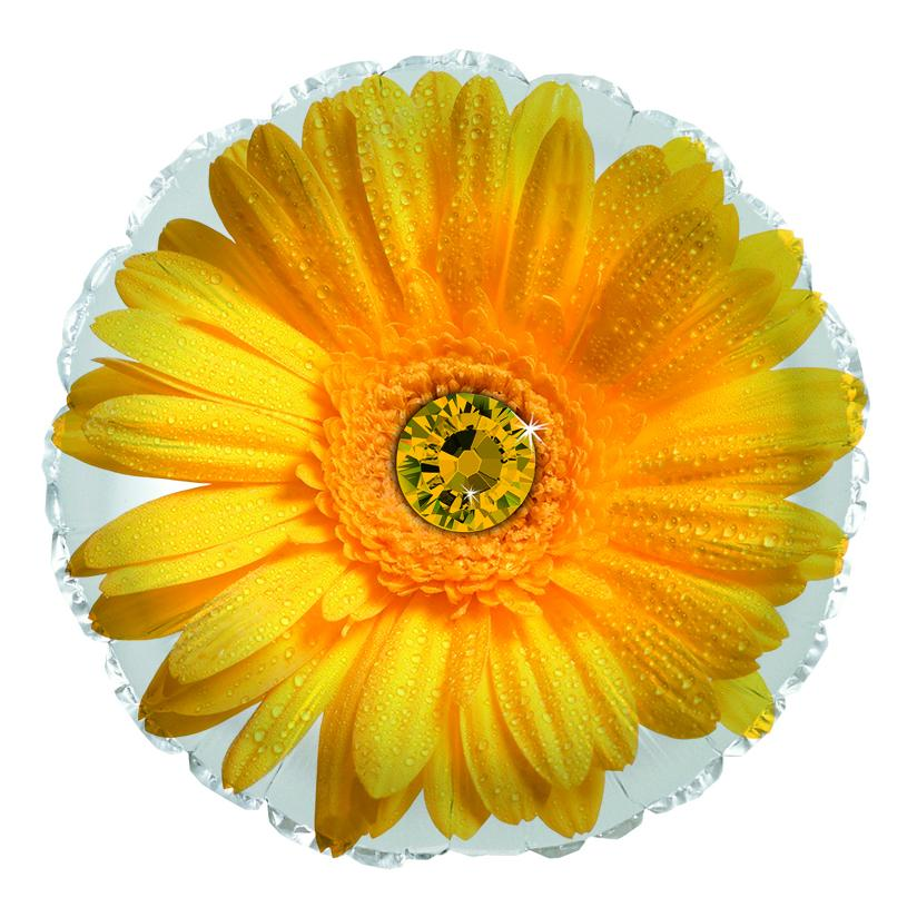 Flower Delivery Florist Same Day Naples 22 Yellow Daisy Balloon.Jpg