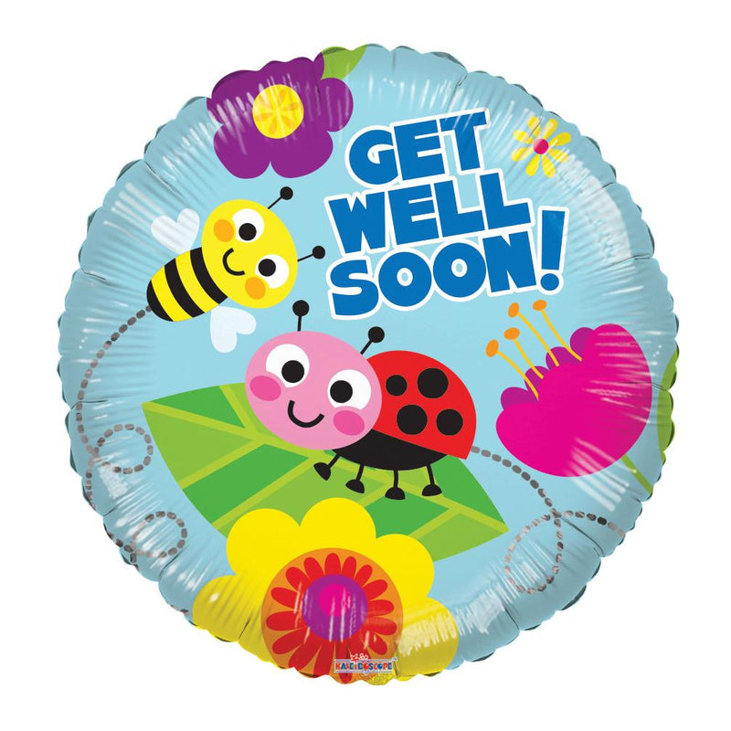 Flower Delivery Florist Same Day Naples 39 Get Well Soon Bugs Balloon.Jpg