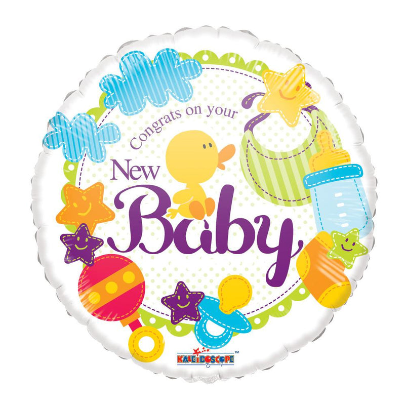 Flower Delivery Florist Same Day Naples 43 Congrats On Your New Baby Balloon.Jpg