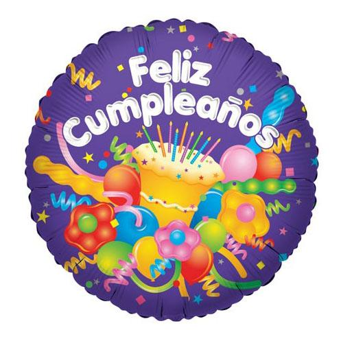 Flower Delivery Florist Same Day Naples 9 Cake And Streamers Feliz Cumpleanos Balloon.Jpg