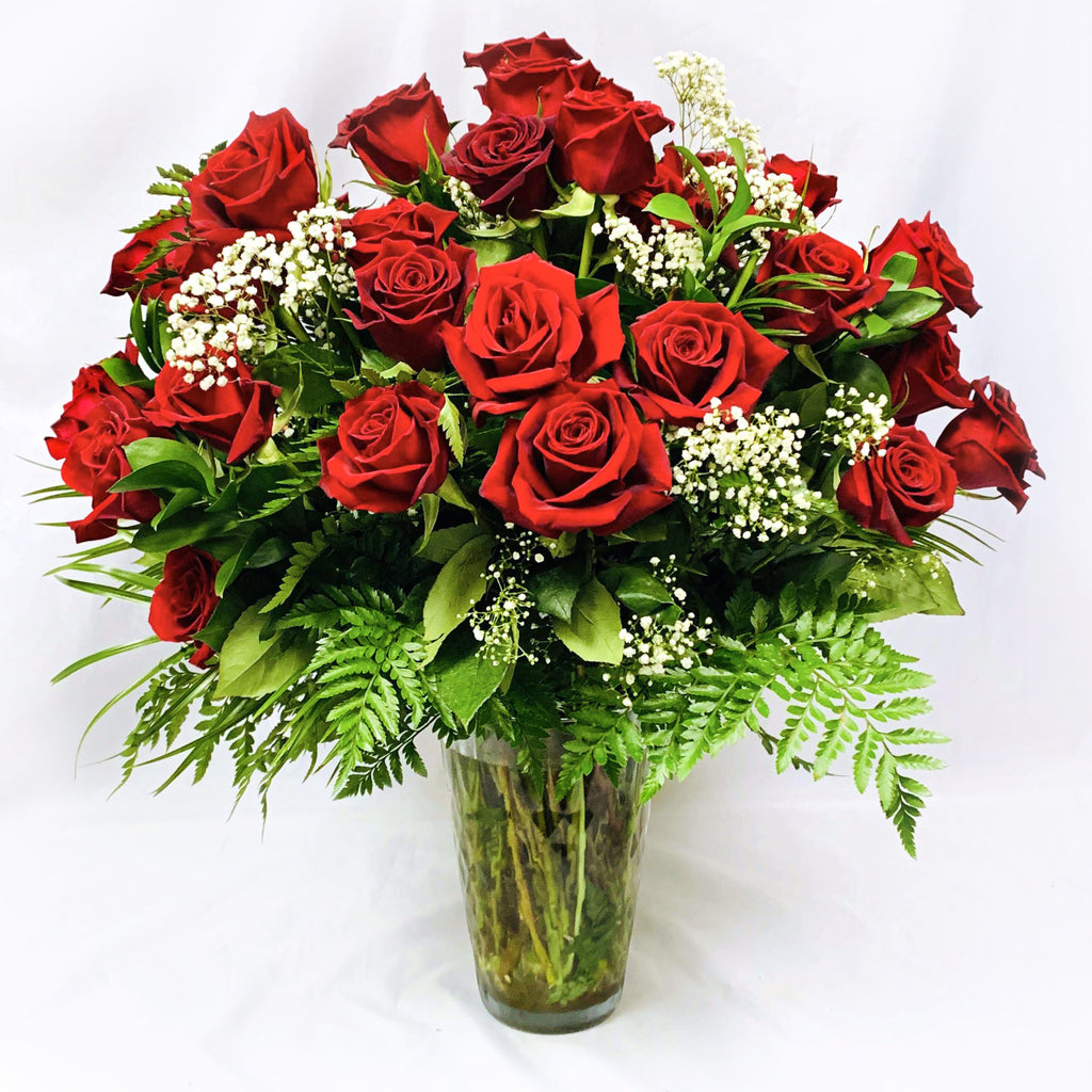 Flower Delivery Florist Same Day Naples Abundance Of Red Roses