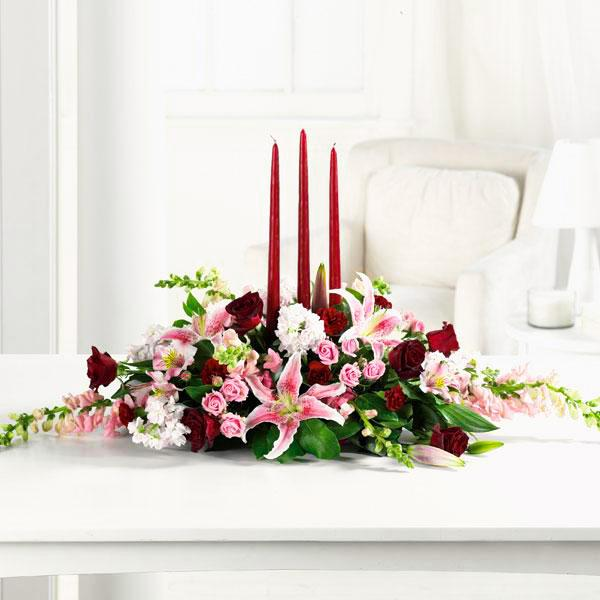 Flower Delivery Florist Same Day Naples Candle Light Magic
