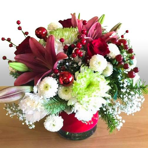 Flower Delivery Florist Same Day Naples Deck The Halls
