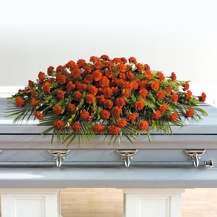 Flower Delivery Florist Same Day Naples Everlasting Devotion Casket Spray