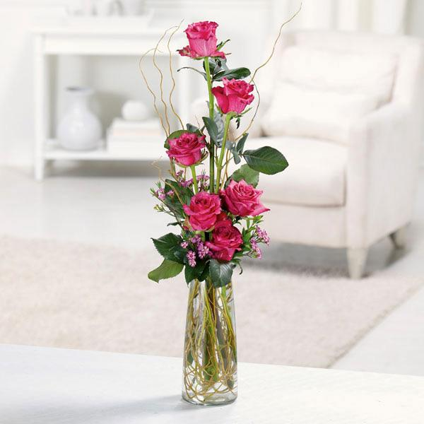 Flower Delivery Florist Same Day Naples Half Dozen Roses