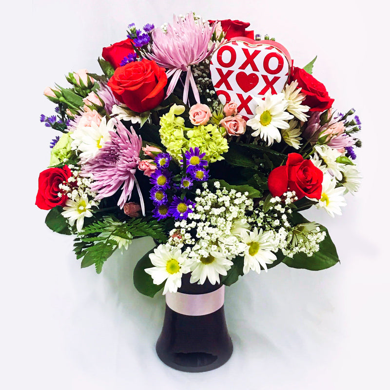 Flower Delivery Florist Same Day Naples Moms Sweet Garden Vase