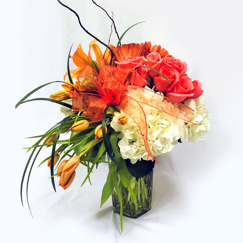 Flower Delivery Florist Same Day Naples Orange Creamsicle