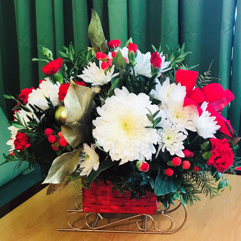 Flower Delivery Florist Same Day Naples Sleigh Bells Ring
