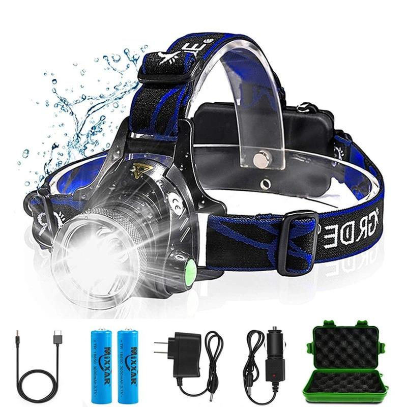 rechargeable headlamp