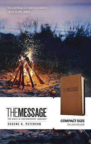 The Message Bible compact edition - Eugene H. Peterson - Coffee & Jesus