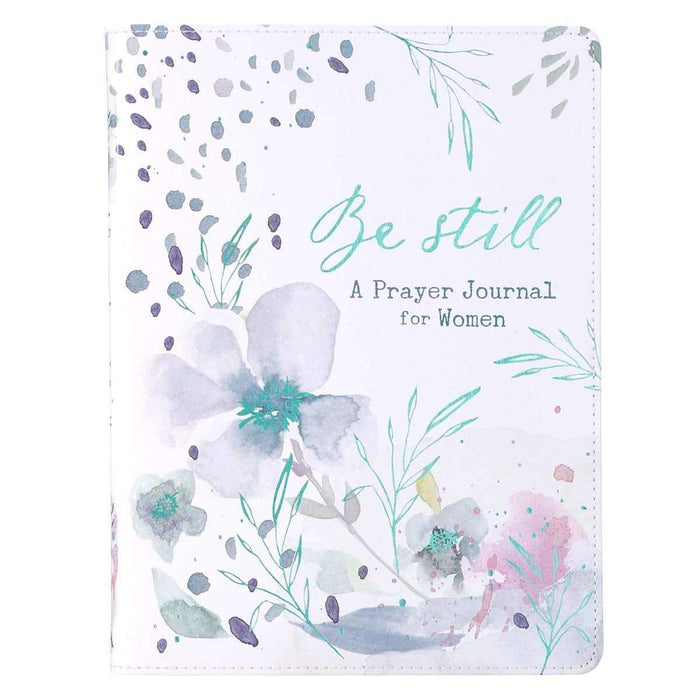 Libreta Journal For Women - Be Still - Coffee & Jesus