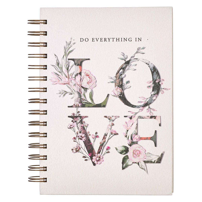Cuaderno argollado- Do Everything in love - Coffee & Jesus