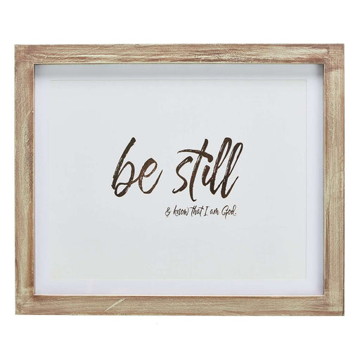 Cuadro: Be Still - CAG - Coffee & Jesus