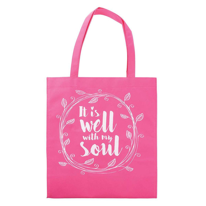 Bolsa de tela: It is well with my soul - CAG - Coffee & Jesus