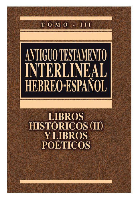 Antiguo testamento interlineal hebreo/español - Clie - Coffee & Jesus