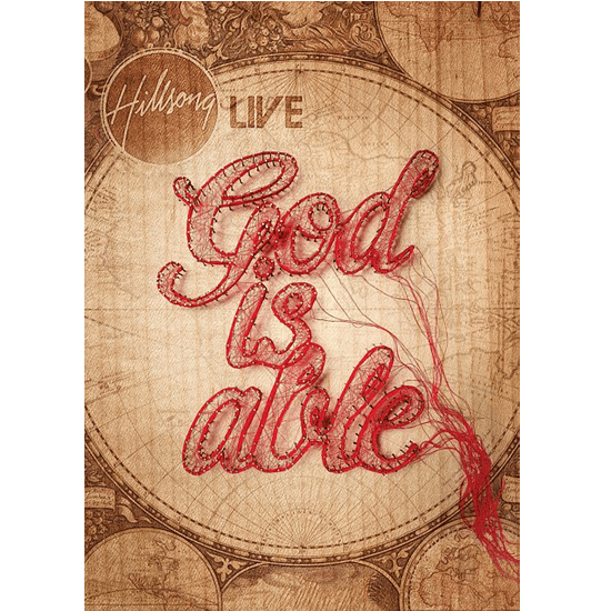 DVD- God is able- Hillsong Live - Coffee & Jesus