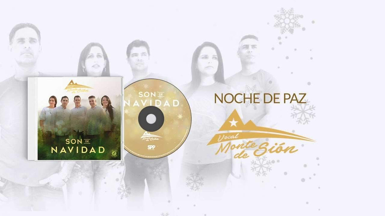 CD - SON DE NAVIDAD - FUNDA - VOCAL MONTE DE SIÓN - Coffee & Jesus
