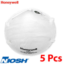 Load image into Gallery viewer, Honeywell H801 Series NIOSH N95 Certified Pack of 5