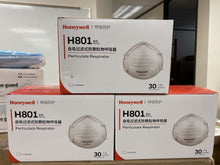 Load image into Gallery viewer, Honeywell H801 Series NIOSH N95 Certified 1 Box 30 Masks