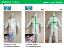 Load image into Gallery viewer, Protective clothing Troy 54 Size XL Anti-virus preventing transmission of blood-borne pathogens and viral infection