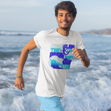 Load image into Gallery viewer, Groovy Buffalo Save the ocean Men's t shirt