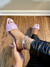 Load image into Gallery viewer, Selena heel (lavender)
