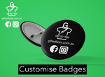 Custom 58mm Badge - DIY Design