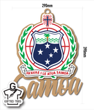 Plaque - Samoan Coat of Arms