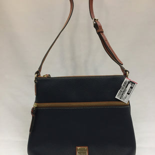Primary Photo - BRAND: DOONEY AND BOURKE STYLE: HANDBAG DESIGNER COLOR: NAVY SIZE: MEDIUM SKU: 240-24052-48523