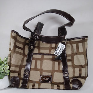 Primary Photo - BRAND: NINE WEST STYLE: HANDBAG COLOR: BROWN SIZE: MEDIUM SKU: 240-24071-5635